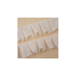 Maya Road - Trim - Pleated Gauze - Cream - 25 Yards