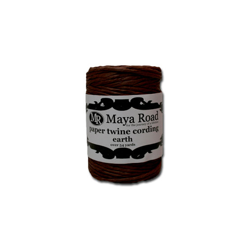 Maya Road - Paper Twine Cording - Earth