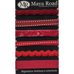 Maya Road - Signature Ribbon Pack - Red