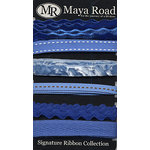 Maya Road - Signature Ribbon Pack - Blue, CLEARANCE