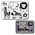 Maya Road - Clear Stamps Set - Zoo Animals, CLEARANCE