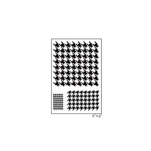 Maya Road - Singleton - Clear Acrylic Stamps - Houndstooth
