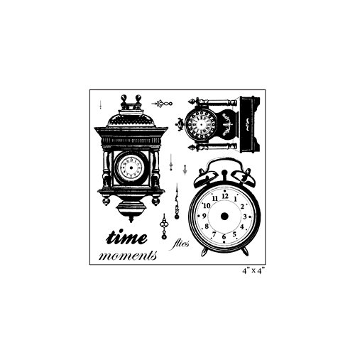 Maya Road - Clear Acrylic Stamps - Time After Time Sheet