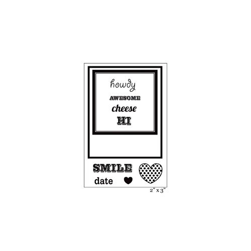 Maya Road - Singleton - Clear Acrylic Stamps - Instant Photo Frame