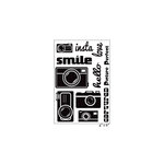 Maya Road - Clear Acrylic Stamps - Picture Perfect Cameras