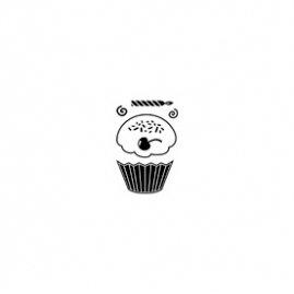 Maya Road - Singleton Clear Stamp - Cupcake, CLEARANCE