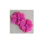 Maya Road - Vintage Gauze Blossoms - Hot Pink