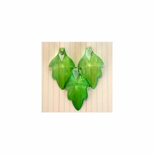 Maya Road - Vintage Findings - Leaf Beads