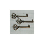 Maya Road - Metal Embellishments - Antique Skeleton Key