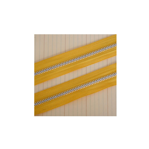 Maya Road - Zipper Trim - Sunshine Yellow - 25 Yards