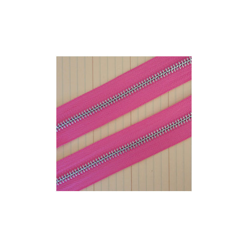 Maya Road - Zipper Trim - Bubblegum Pink - 25 Yards