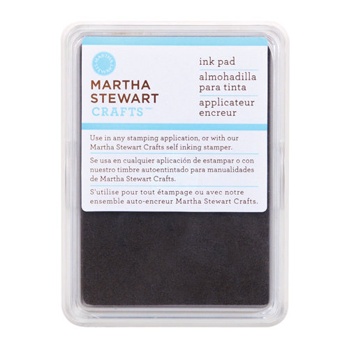 Martha Stewart Crafts - Archival Pigment Ink Pad - Brownstone