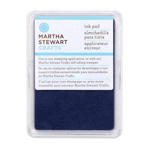 Martha Stewart Crafts - Archival Pigment Ink Pad - Nautical Blue