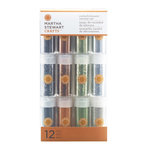 Martha Stewart Crafts - Halloween - Multimedia Glitter Embellishment Variety - 12 Piece - Halloween