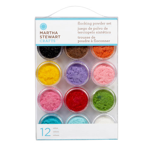 Martha Stewart Crafts - Glitter Flocking Powder