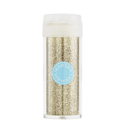 Martha Stewart Crafts - Glitter Embossing Powder - Florentine Gold