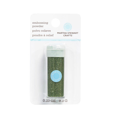 Martha Stewart Crafts - Glitter Embossing Powder - Peridot