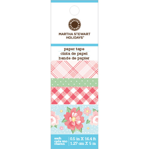 Martha Stewart Crafts - Vintage Girl Collection - Paper Tape