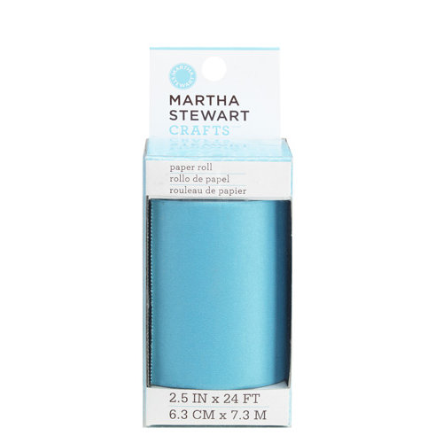 Martha Stewart Crafts - Modern Festive Collection - Paper Roll - Turquoise