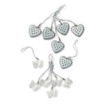 Martha Stewart Crafts - Doily Lace Collection - Charms