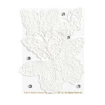 Martha Stewart Crafts - Doily Lace Collection - Die Cut Lace Pieces - Butterflies