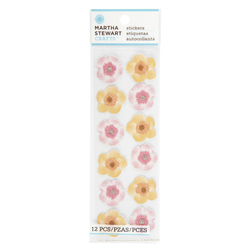 Martha Stewart Crafts - Layered Stickers - Dianthus