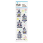 Martha Stewart Crafts - Modern Damask Collection - Stickers - Bird Cages and Flowers