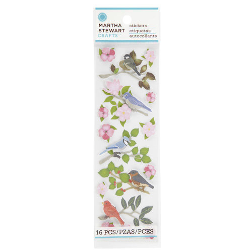 Martha Stewart Crafts - Stickers - Birds on Branches