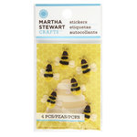 Martha Stewart Crafts - 3 Dimensional Stickers - Bee