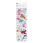 Martha Stewart Crafts - Stitched Collection - Stickers with Button Accents - Bird