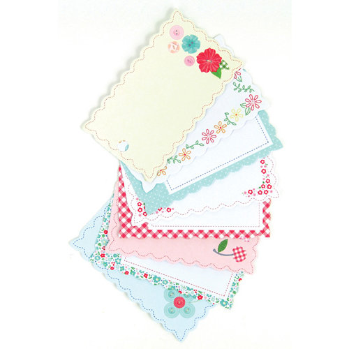 Martha Stewart Crafts - Stitched Collection - Tag Pad