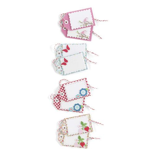 Martha Stewart Crafts - Stitched Collection - Layered Gift Tags