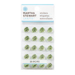 Martha Stewart Crafts - Bling - Gemstone Stickers - Mini Metallic Leaves