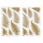 Martha Stewart Crafts - Stickers with Foil Accents - Elegant Nature Ferns