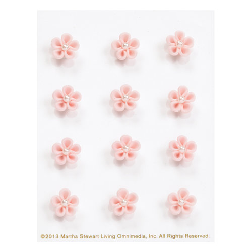 Martha Stewart Crafts - 3 Dimensional Stickers - Mini Cherry Blossoms