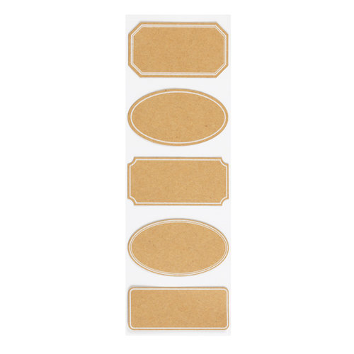 Martha Stewart Crafts - Labels - Classic Kraft