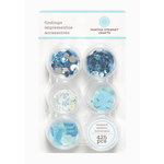 Martha Stewart Crafts - Stackable Embellishment Findings - Turquoise