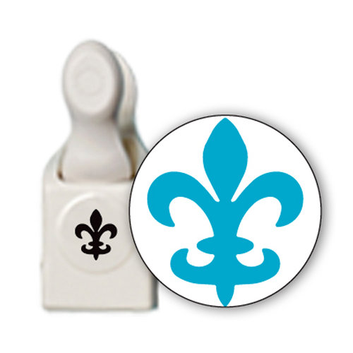 Martha Stewart Crafts - Craft Punch - Medium - Fleur De Lis