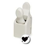 Martha Stewart Crafts - Valentine - Craft Punch - Medium - Heart and Arrow