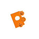Martha Stewart Crafts - Halloween - Stamp and Punch Pack - Pumpkin