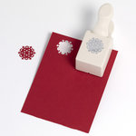 Martha Stewart Crafts - Christmas - Double Craft Punch - Medium - Nordic Snowflake