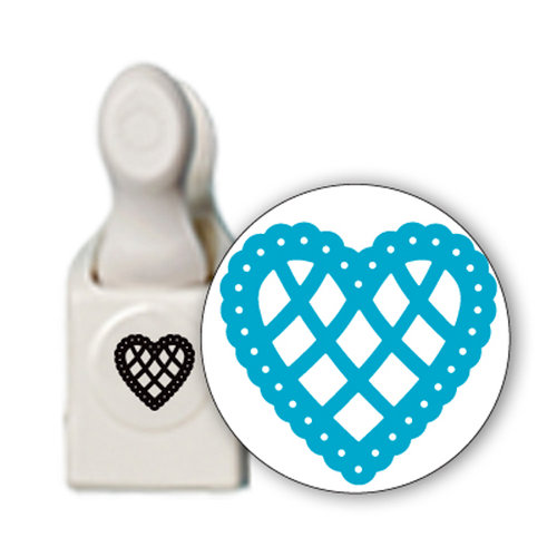 Martha Stewart Crafts - Craft Punch - Large - Lace Scallop Heart