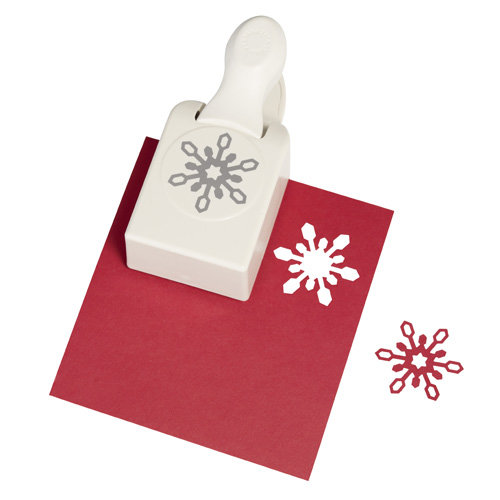 Martha Stewart Crafts - Christmas - Double Craft Punch - Large - Icelandic Snowflake