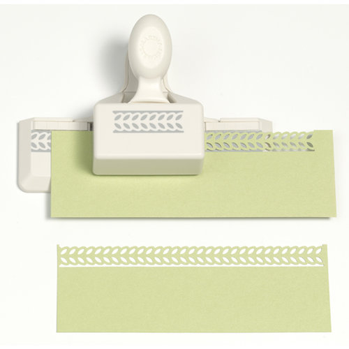 Martha Stewart Crafts - Double Edge Punch - Laurel Leaf Trim