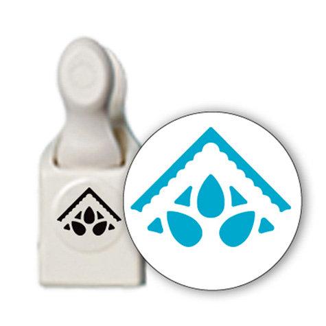 Martha Stewart Crafts - Corner Craft Punch - Rain Drop