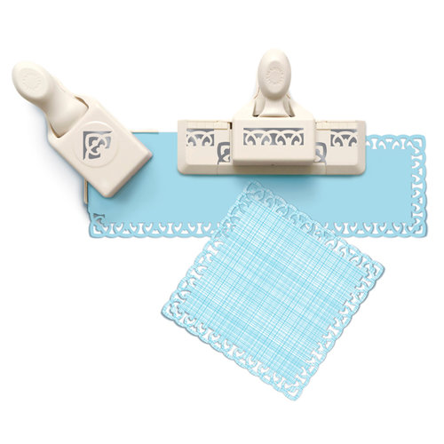 Martha Stewart Crafts - Punch Around the Page - Craft Punch Set - French Scroll