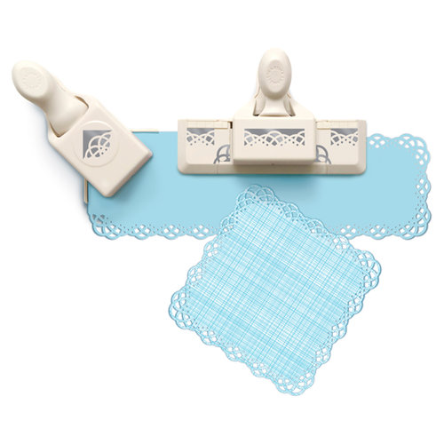 Martha Stewart Crafts - Punch Around the Page - Craft Punch Set - Swirling Lace
