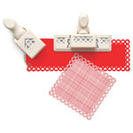 Martha Stewart Crafts - Valentine - Punch Around the Page - Craft Punch Set - Heart Chain