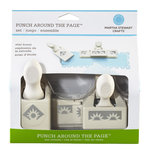 Martha Stewart Crafts - Punch Around the Page - Craft Punch Set - Star Burst