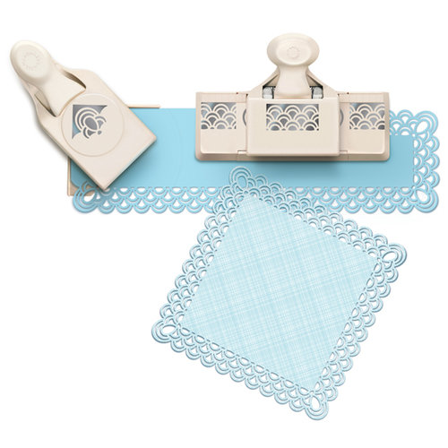 Martha Stewart Crafts - Punch Around the Page - Large Craft Punch Set - Double Arches